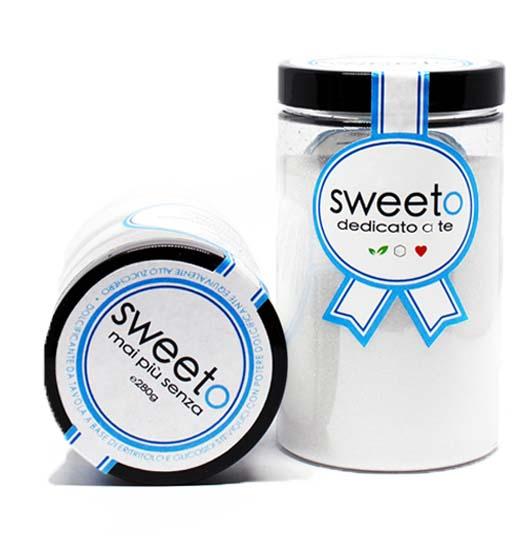 Dolcificante Sweeto Vasetto Sweeto 280 grammi